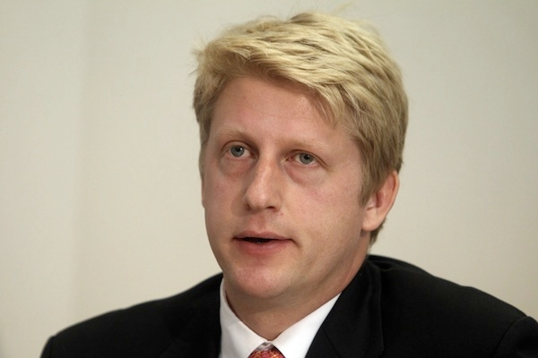 Jo Johnson gets a promotion as part of the PM's love-in with his MPs. Picture: PA