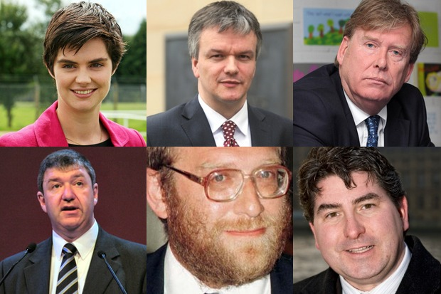 Some of the ministers who are in or out in today's reshuffle.