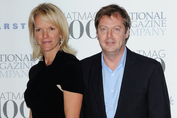 Elisabeth Murdoch and Matthew Freud, who David Cameron partied with this weekend. Photo: Getty Images.