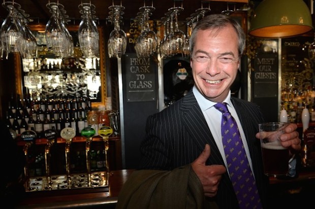 Ukip's celebration party has been moved tonight due to 'health and safety concerns'.