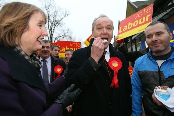 Just deserts for Labour's John O'Farrell in Eastleigh? Photo: Getty Images.