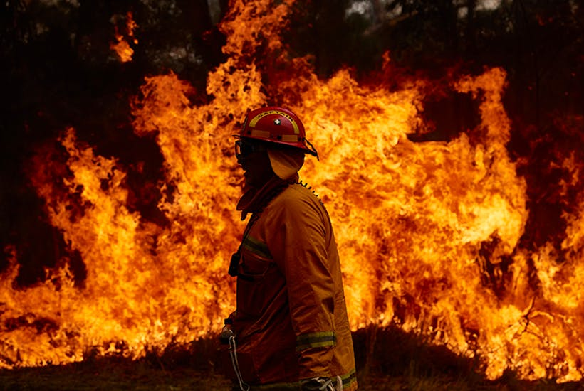 Fight fire with fire: controlled burning could have protected Australia