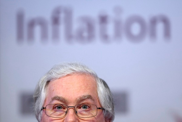 Bank Of England Quarterly Inflation Report News Conference
