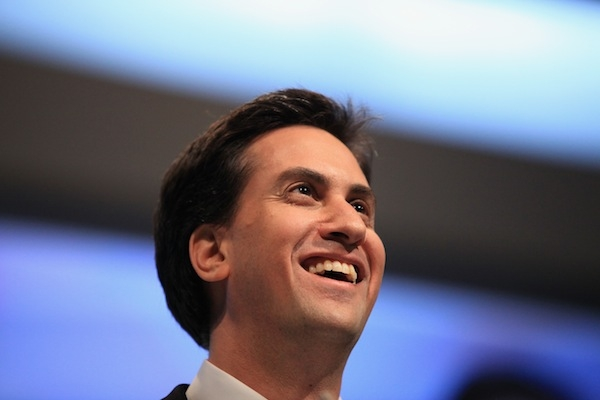 A new Labour video focuses on the fact that Ed Miliband went to a comprehensive school. Picture: Getty Images