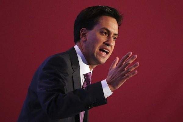 Ed Miliband will give his speech to the Labour party conference tomorrow afternoon. Picture: Getty.