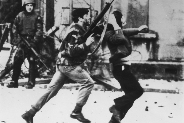 Bloody Sunday. (Photo by Frederick Hoare/Central Press/Getty Images)