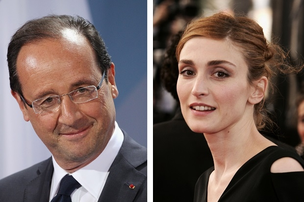The claims surrounding the alleged dalliance between President Hollande and the actress Julie Gayet become more fantastic by the day. (Pascal Le Segretain/Getty Images)