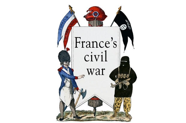 France's civil war...