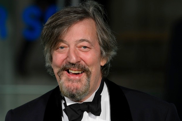 Stephen Fry has used Nick Cohen's column as an excuse for an argument on religion. Photo: LEON NEAL/AFP/Getty Images