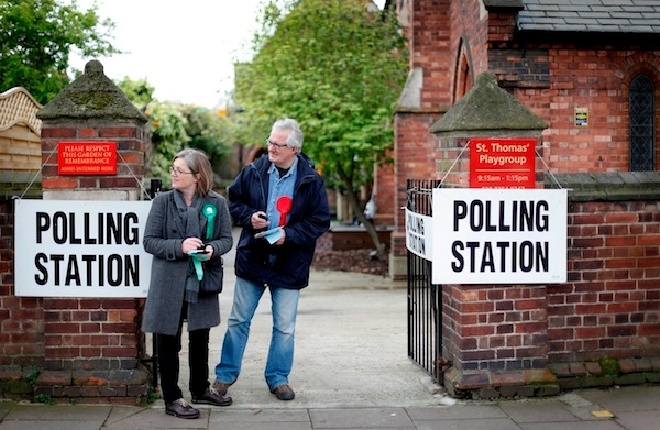 Voters Cast Their Vote In The London Mayoral Elections