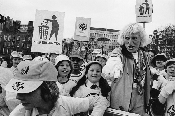 Jimmy Savile, national treasure and indemnified pervert. Those who created him need to be examined. Image: Getty