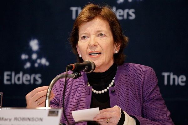 Mary Robinson talks to us about her arguments with Kofi Annan in the United Nations. Image: Getty.