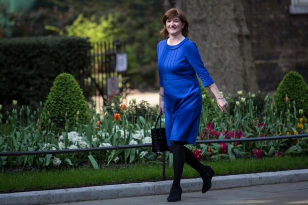 The hopelessly miscast Nicky Morgan