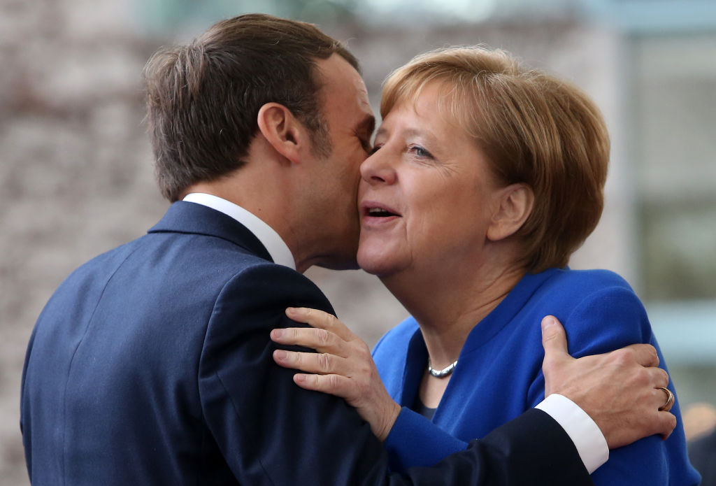 'Germany will pay!' is Macron's coronavirus mantra