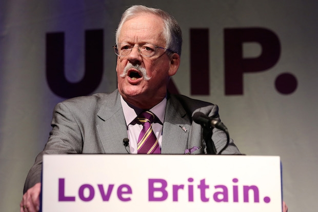 Ukip's Roger Helmer will assisted in Newark with data from the Electoral Commission. Photo: Getty Images.