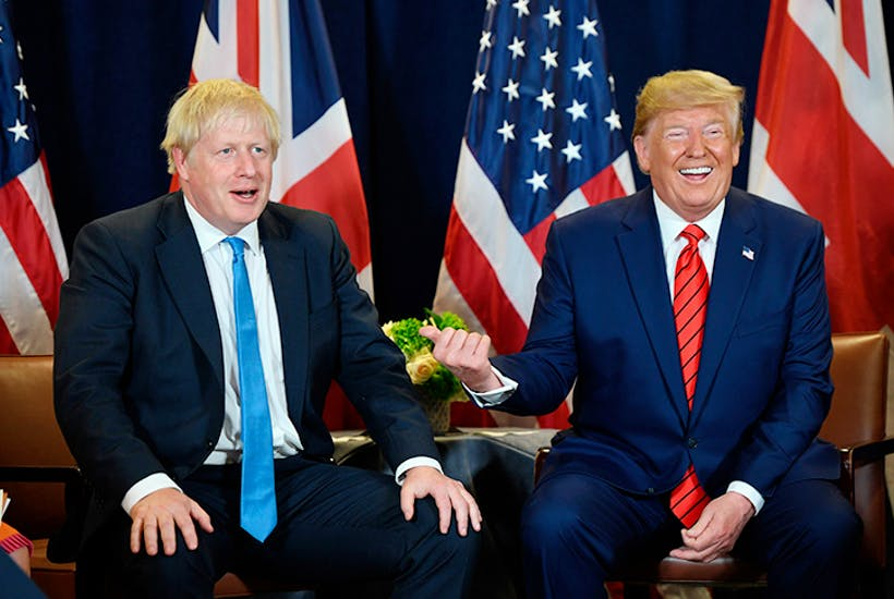 Trump's visit couldn't come at a worse time – for Boris and for Nato