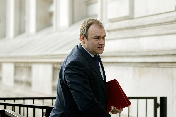 Ed Davey will make a statement to the House later today on allegations of price fixing in the wholesale gas market. Image: Getty.