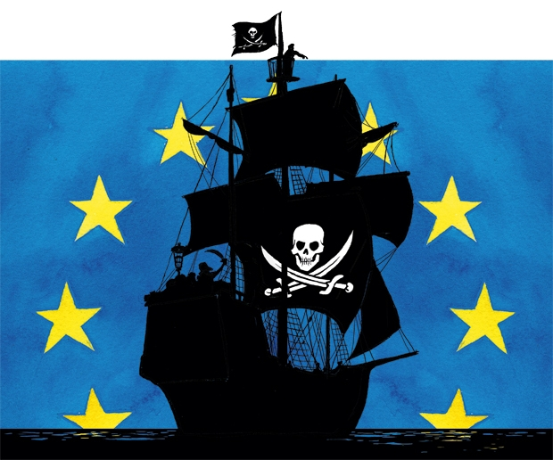 Watch out Eurocrats, here come the Pirates!