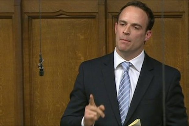 Dominic Raab has a fan club called 'The Raabels'.