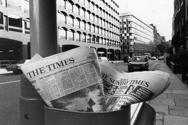 Are newspapers worse offenders than social media and the internet? Image: Getty