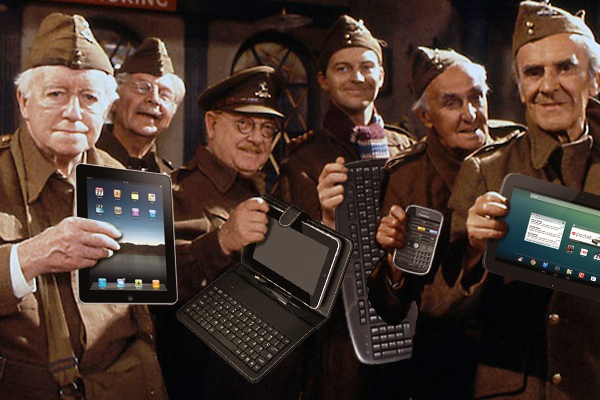 Our new digital warriors? Image: Carla Millar and BBC