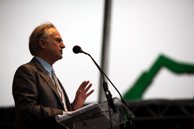 Richard Dawkins speaking at the US National Atheist Organization's 'Reason Rally' In Washington, DC. Image: Getty