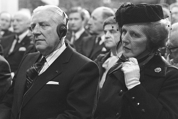 Mrs Thatcher goes to Brussels