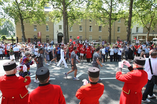 The Olympic Torch in London, Getty Images