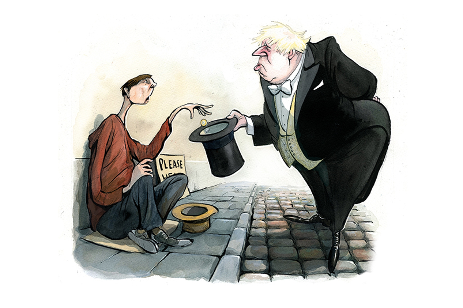 Assetocracy: the inversion of the welfare state