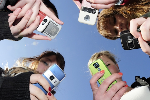 Is Generation Y obsessed with smartphones instead of politics? Photo: Getty Images.