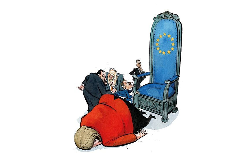 Angela's ashes: Merkel is leaving the EU in chaos