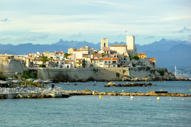 My mother's passport to the Antibes good life
