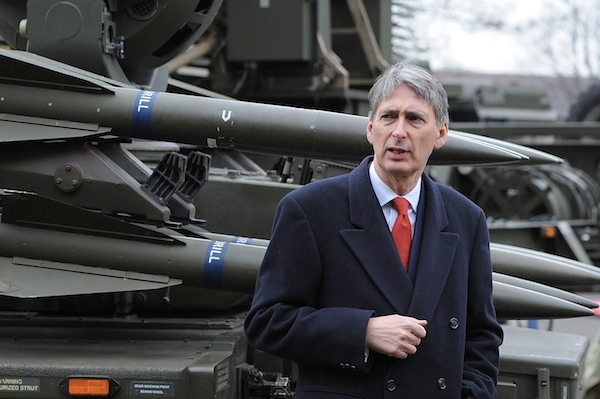 Philip Hammond was made defence secretary because of his ability to balance the books. Picture: Getty.