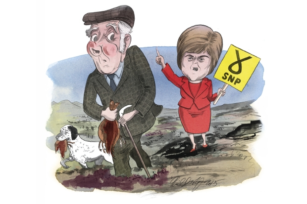 The SNP land grab