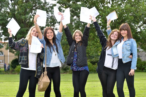 What factors influence these pupils to gain far better GCSEs? Photo: PA.