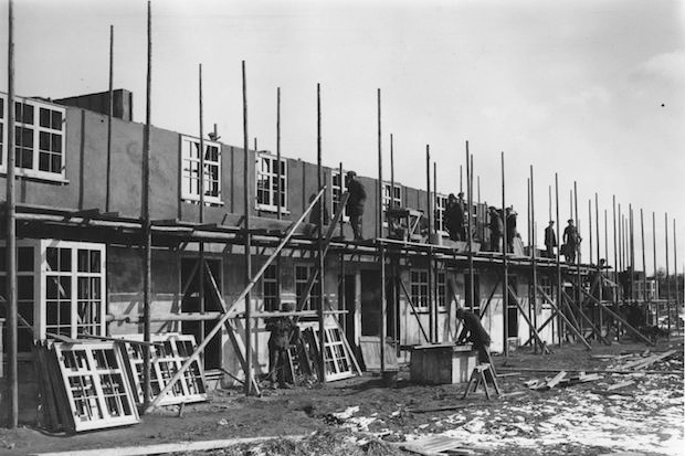 Welwyn Garden City under construction in 1925. Photo: Hulton Archive/Getty Images