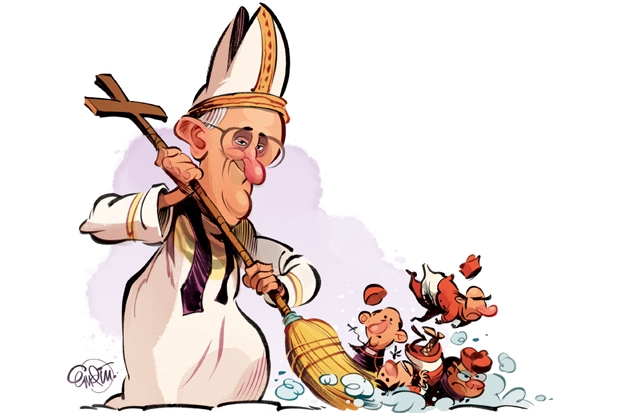 Revealed: The Pope's war with the Vatican