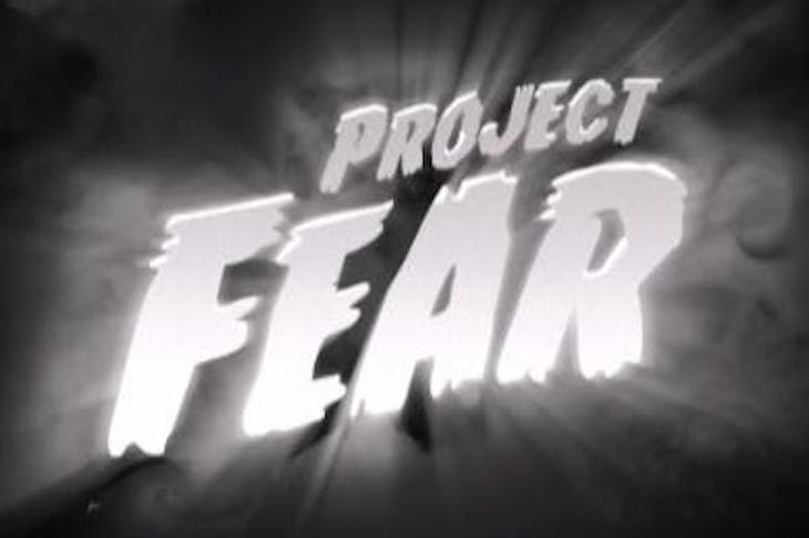 Today is the day that Project Fear died