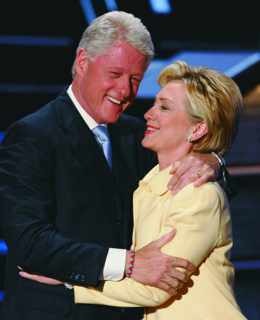 'Some say Bill Clinton's running for a third term'