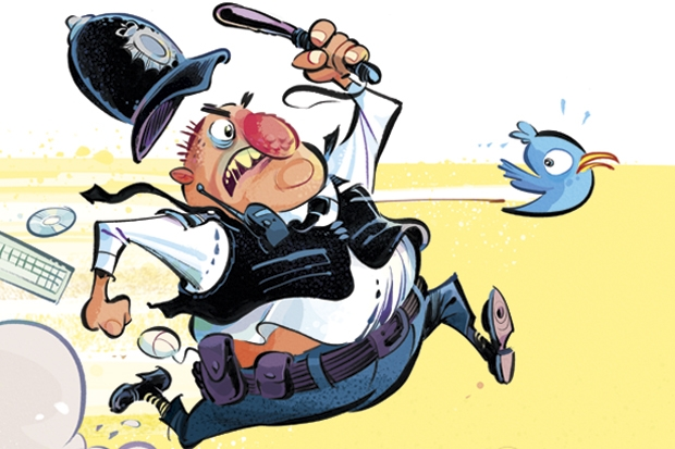 They used to catch crooks - now they trawl Twitter. Are our police turning into spies?
