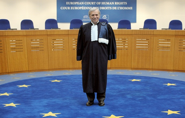 The president of the European Court of Human Rights