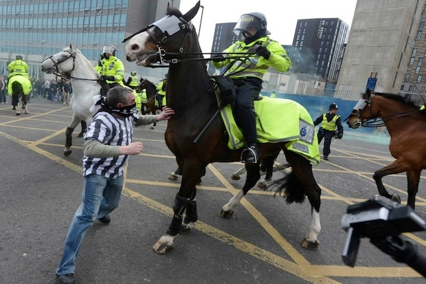 Newcastle United fans are in a war with the club's management.