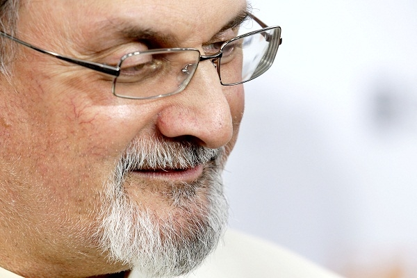Salman Rushdie is still going strong, thanks to the efforts of Special Branch. Image: Getty