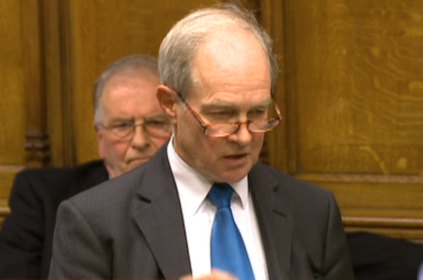 Peter Lilley warned that Parliament was capable of making its 'worst blunders' when both frontbenches agreed on something.