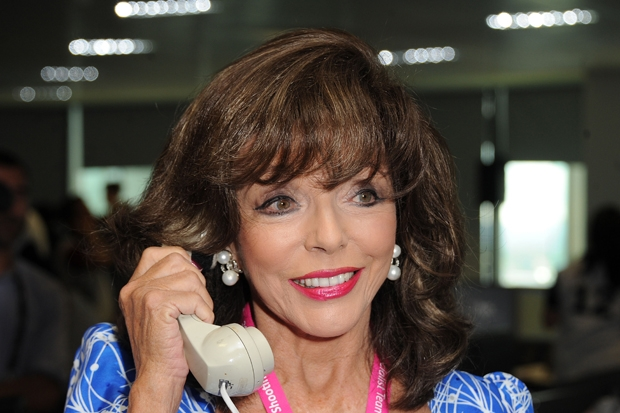 My moment of mortification with Saint Joan Collins