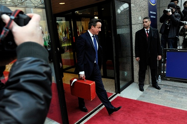 Downing Street feels that David Cameron has emerged well from the EU budget talks. Images: Getty