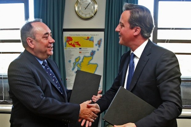 Will Alex Salmond get his own way with the independence vote in September? Photo: Getty Images.