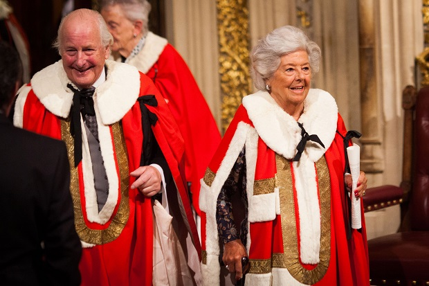 Baroness Betty Boothroyd is leading the charge against the government's exclusion of the Leader of the House of Lords, Baroness Stowell, from Cabinet. (Image: Getty)