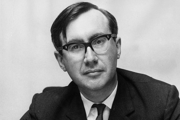William Rees-Mogg, editor of the Times 1967-1981 passed away today. Photo: Getty Images.