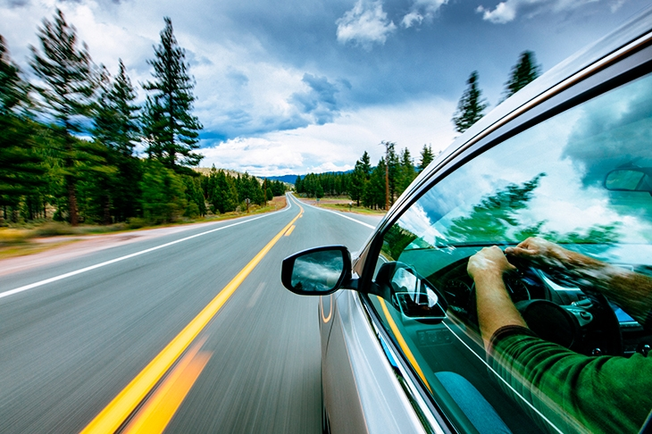 Lockdown, foot down: driving in the time of Covid